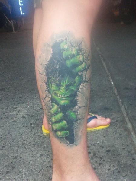 hulk tattoos - Google Search