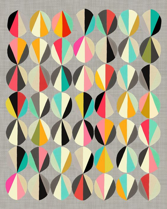 Love the colour scheme and sense of geometry/balance