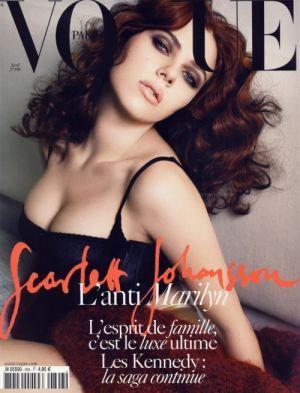Vogue magazine covers - mylusciouslife.com - Vogue Paris April 2009 - Scarlett…