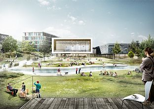 C.F. Møller and Transform win the worlds best city campus - C.F. Møller