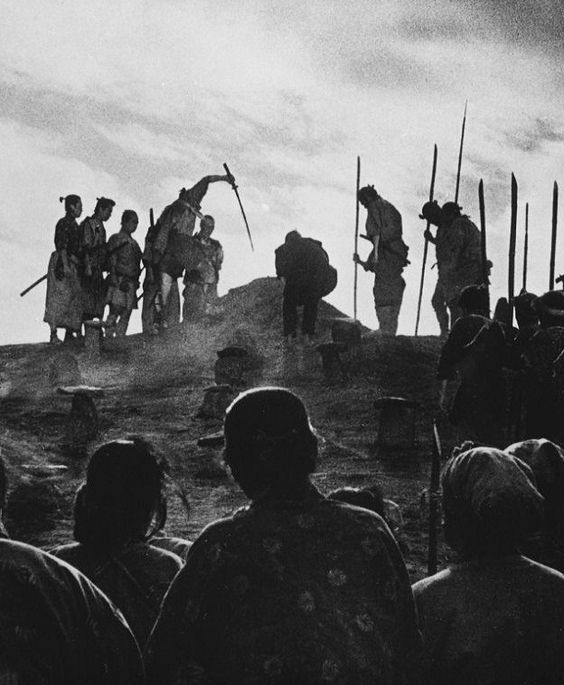 Seven Samurai (1954, dir. Akira Kurosawa) (via)