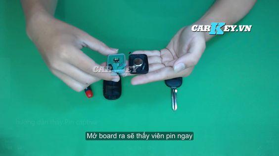 thay pin chìa khóa ô tô Chevrolet - Carkey.vn