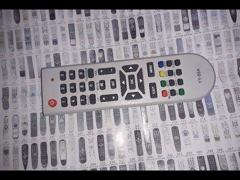 قائمة بأكواد الريموت المتعدد لأكثر من 2000 رسيفر Remote Control Tv Remote Remote