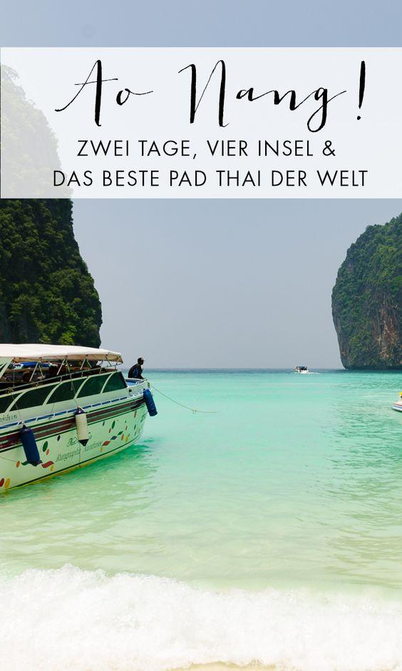 Ao Nang ist der beliebteste Touristenort in der Region Krabi. Wir waren dort und geben dir Tipps für deinen Aufenthalt in Ao Nang.