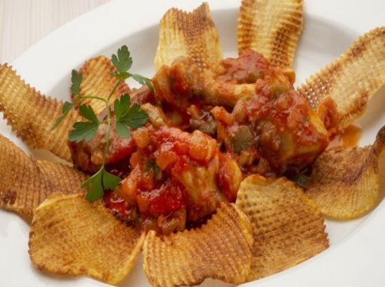 This Domain Was Registered By Youdot Io Pollo Con Tomate Receta Pollo Con Tomate Patatas