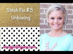 Stitch Fix Review with an added video- A Cup Full of Sass