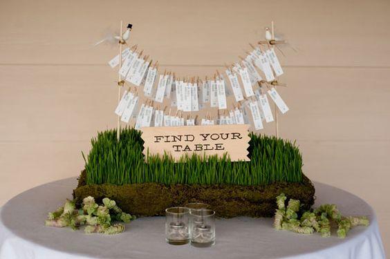 DIY Entry Wire Seating Chart wedding diy diy crafts do it yourself diy wedding crafts wedding crafts