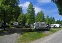 Rainbow Ranch RV Park - Offering Full Hook-up, 32 RV & 100 campsites, pull throughs, showers, washrooms & laundry facilities.