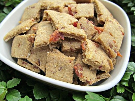 (gluten-free) apple bacon dog treat/biscuit recipe