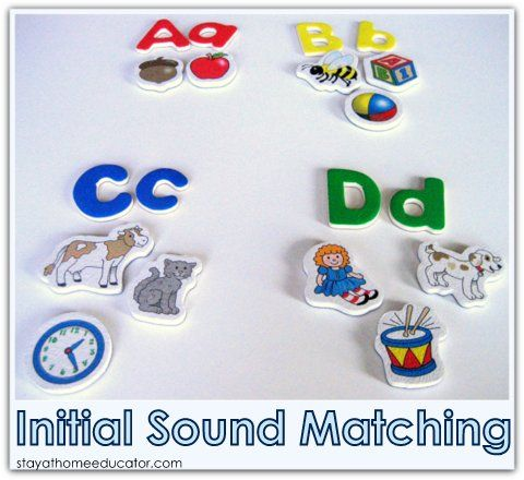 Initial Sound Matching - Stay at Home Educator