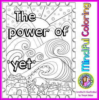 Growth Mindset Motivational Coloring Sheets Set 1 Coloring Sheets Growth Mindset Color