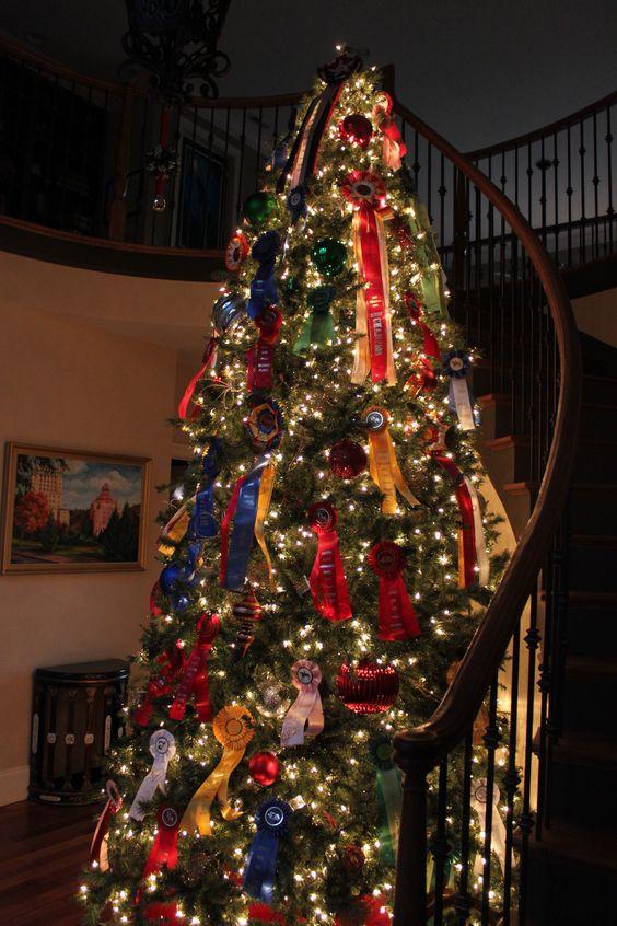 Horse Show Ribbon Tree - @Mallory Puentes Puentes Puentes Puentes Williams-Bley Handler Interior Design!!!!!
