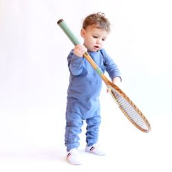 Mono raquetas azul