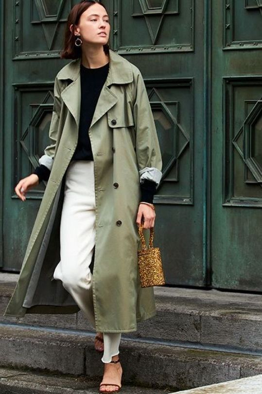 Trench Coats Women Coat Outfit, Trendy Trench Coats 2019