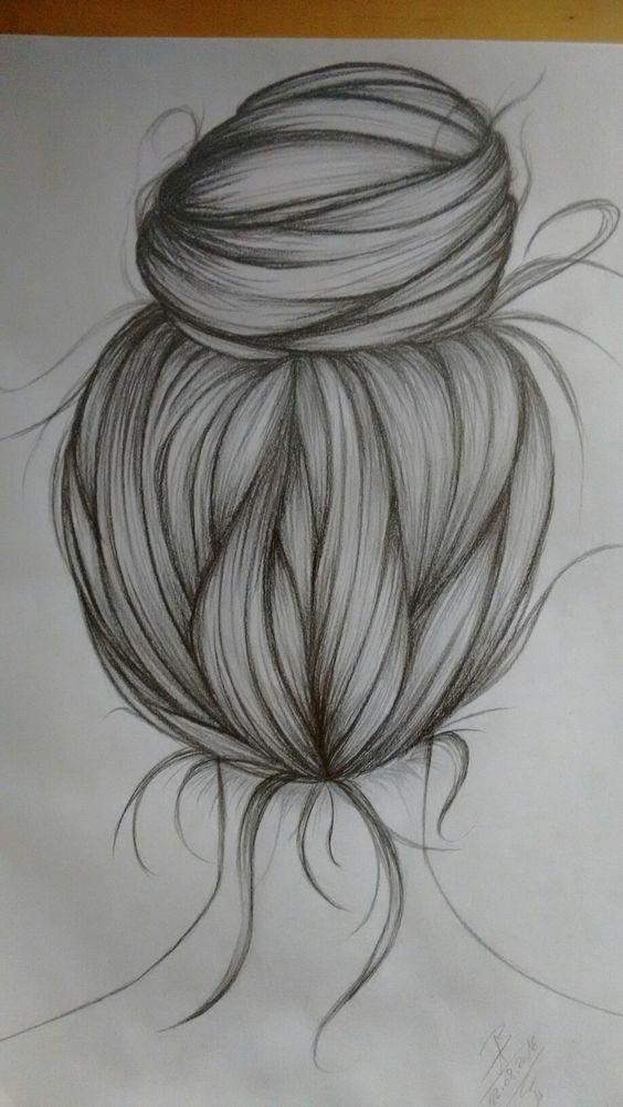 Haare als Kunst