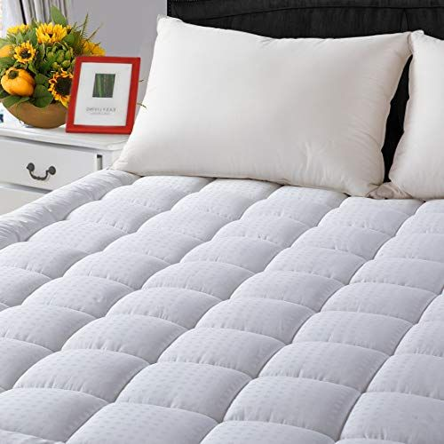 Queen Cooling Mattress Pad Cover 8 To 21 Inches Deep Pocket