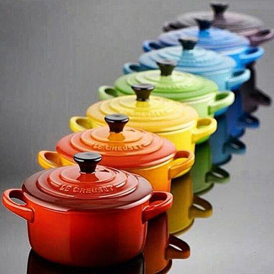LE CREUSET! Charme em qualquer ocasião! #tableware #kitchenware #mesaposta #homeware #homestyle #homedesign #listadecasamento #weddinglist #chábar #cozinha #estilo #emporioriograndenatal  Yummery - best recipes. Follow Us! #kitchentools #kitchen