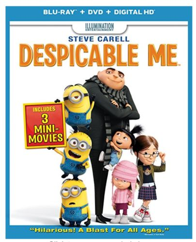 Amazon: Despicable Me DVD $4.99 Or Blu-ray Combo Pack Just $6.99
