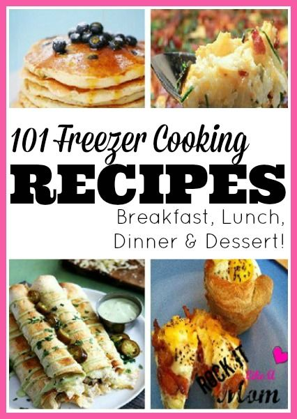 Make ahead meals that you can freeze and use later are the biggest time saver I have ever experienced, especially at dinner time! It's so great knowing that on those crazy busy days that you just don't have the time (or energy!) to cook something, you don't need to resort to take out!