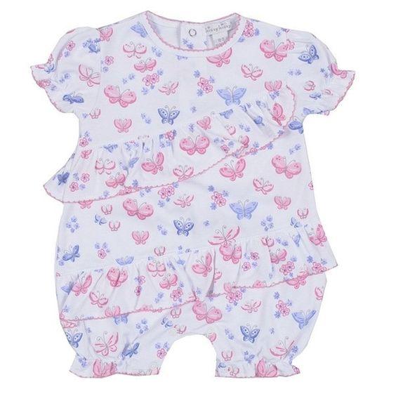 Kissy Kissy Butterfly Dreams Playsuit - Baby Girl