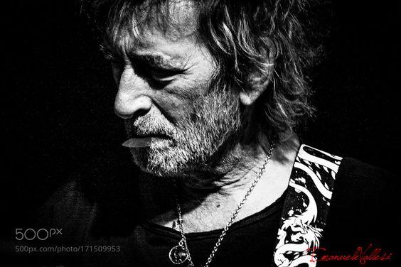 Il Gallo Claudio Golinelli (bassista Vasco Rossi) by EmanueleVallesi