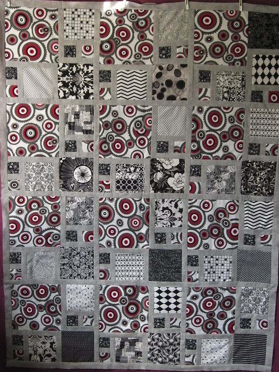 QUILT WITHOUT GUILT: Black and White Quilts