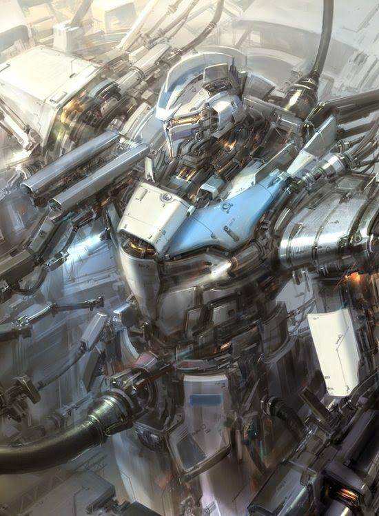 Cenários de fantasia e batalhas de ficção científica nas ilustrações de Jae Cheol Park a.k.a. Paperblue: