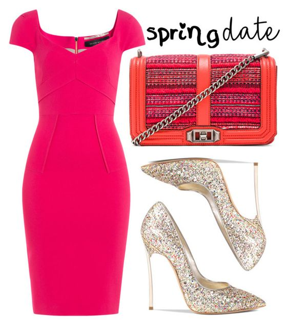 """Spring Date"" by cherieaustin ❤ liked on Polyvore featuring Rebecca Minkoff, Roland Mouret, Casadei, rebeccaminkoff, RolandMouret and springdate"