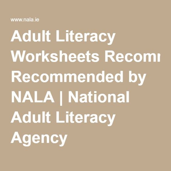 Printables Adult Literacy Worksheets adult literacy worksheets recommended by nala national agency
