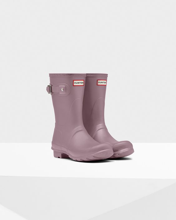 Women's Original Short Rain Boots   Official Hunter Boots Site