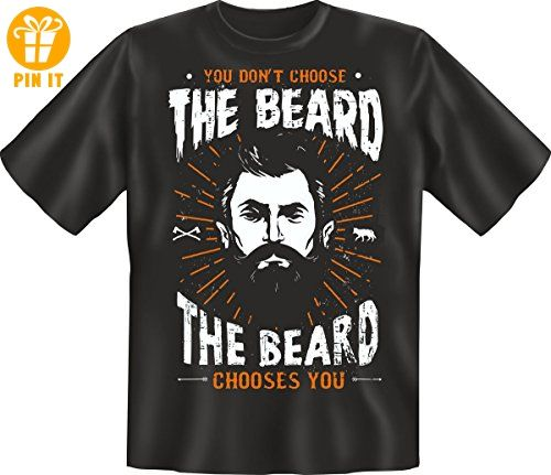 T-Shirt: Beard chooses You L - T-Shirts mit Spruch | Lustige und coole T-Shirts | Funny T-Shirts (*Partner-Link)