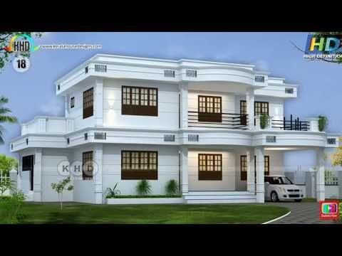 New House Design In Kerala 2019 Traditional And Contemporary Kerala Latest Home Youtube House Design Bungalow House Design Architect Design House