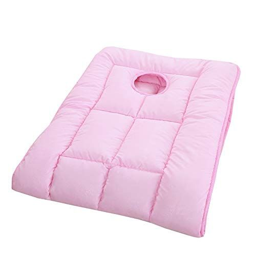 Gdzfy Premium Cotton Massage Bed Pad Quilted Soft Beauty Bed Pad Breathable Spa Massage Table Mattress Toppers Elastic M Bed Pads Massage Bed Spa Massage Table
