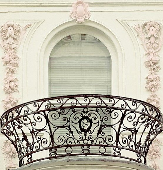 magnificent iron balcony
