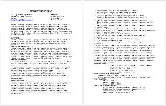 Senior Accounts Officer Resume resume sample Pinterest - police dispatcher resume