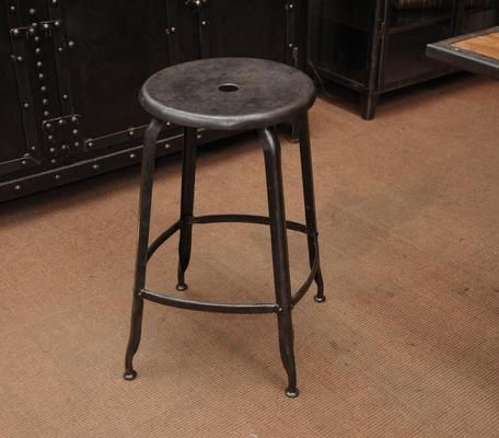 1 tabouret haut industriel nicolle tabouret pinterest. Black Bedroom Furniture Sets. Home Design Ideas