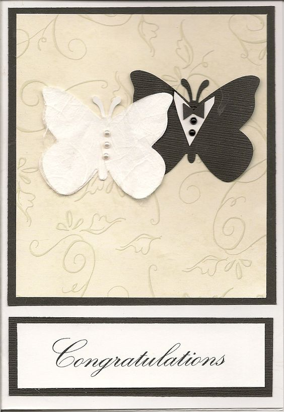 Butterfly wedding card                                                                                                                                                      More                                                                                                                                                      More
