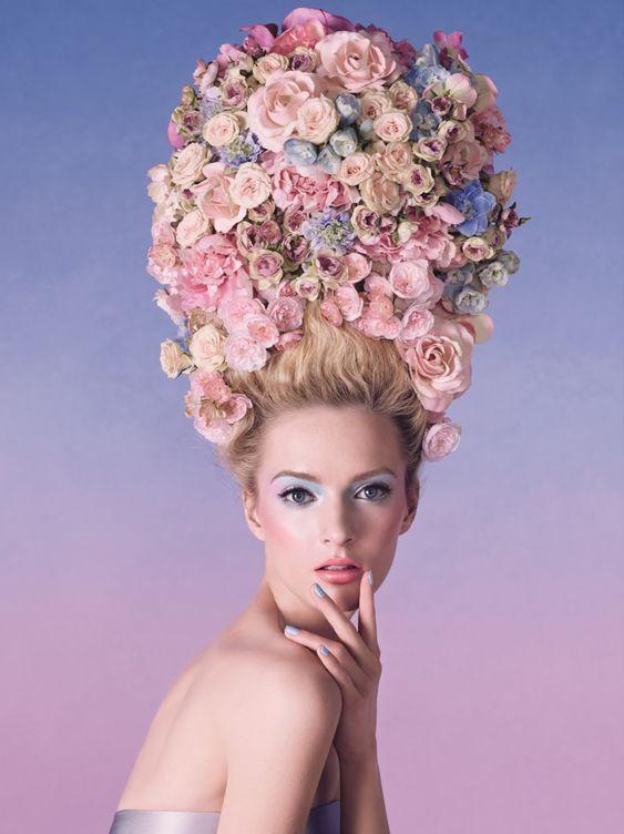 Campaña floral de Dior #Dior #fotografía #campaña #flores #publicidad