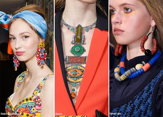 Spring/ Summer 2016 Jewelry Trends: Colorful Jewelry # ...