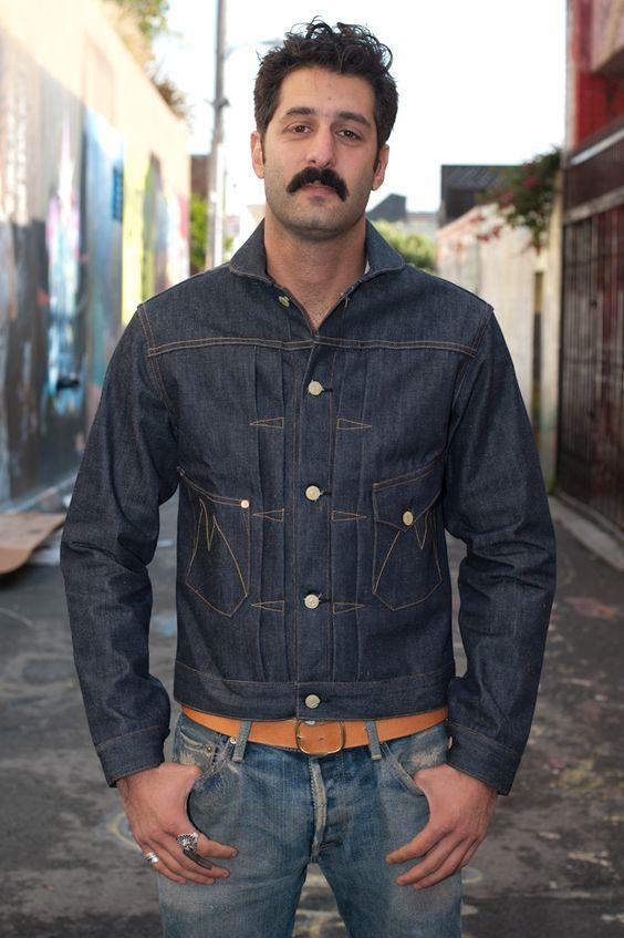 Mister Freedom Denim Ranch Jacket - $300.00 : Self Edge : Japanese Selvedge Denim