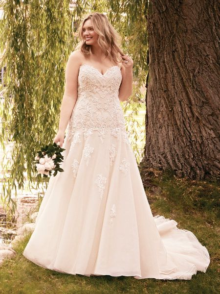 Plus Size Wedding Dresses That Celebrate Your Curves from Maggie Sottero  Designs c28f841ba9c4