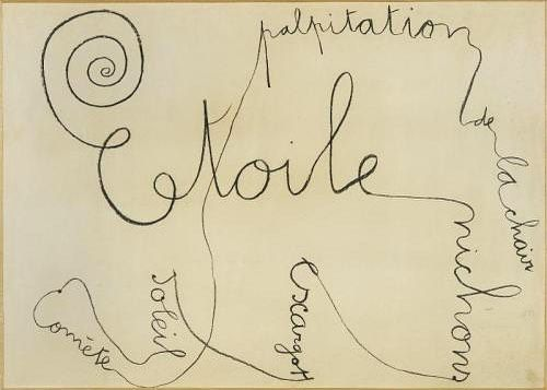 Oan Miró Dessin Poème 193 Joan Miro Miro Peintures Miro