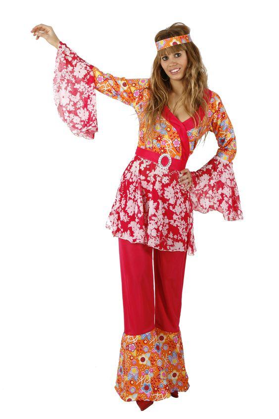déguisement hippie femme : flower power & vie en rose !!!