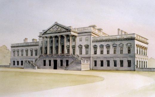 13. Camp ell construiría wanstead house - 1715-20. Prototipo de la casa de campo inglesa.