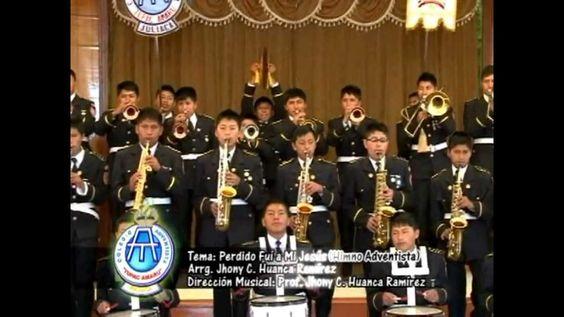 Banda Sinfónica del CATA Disco 2 - Perdido fuí a mi Jesús (Himno Adventi...