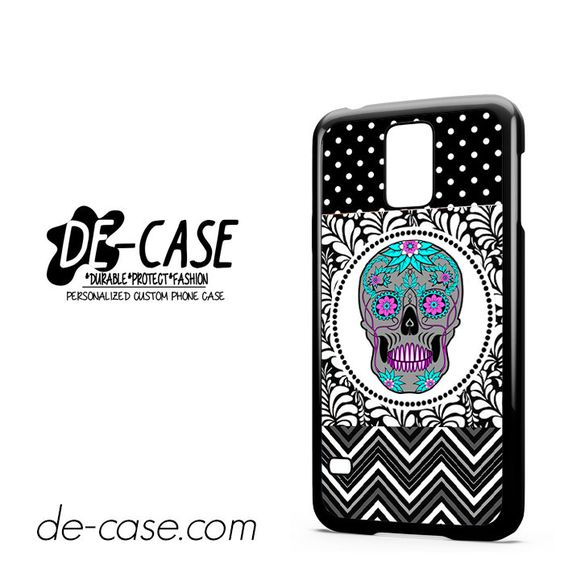 Floral-Skull-Chevrondots-DEAL-4281-Samsung-Phonecase-Cover-For-Samsung-Galaxy-S5-/-S5-Mini