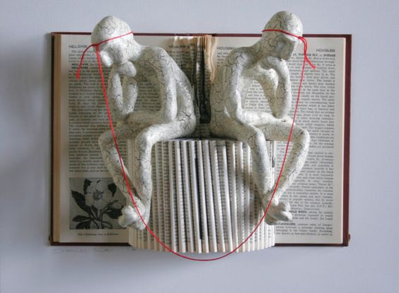 Like an Open Book Original Sculpture by Kenjio on Etsy, $500.00