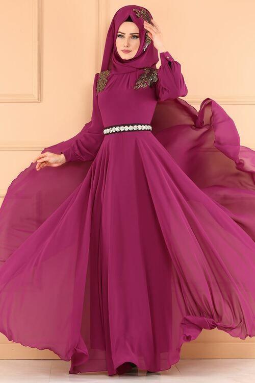 Modaselvim Abiye Sal Kombinli Sifon Abiye Ech7046 Sarabi Dresses Turkish Dress Evening Gown Dresses