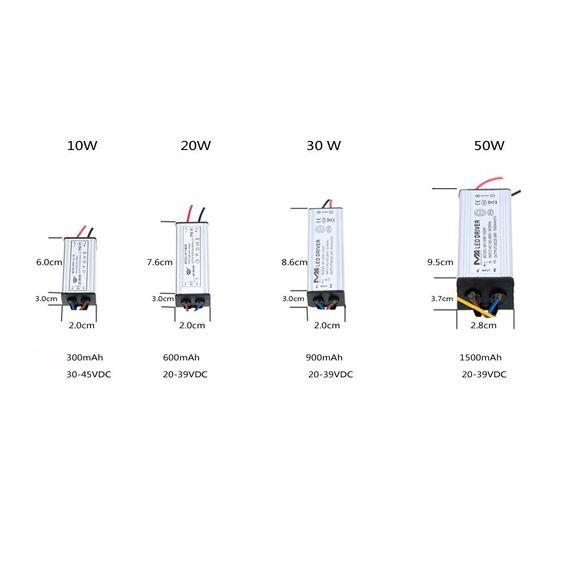 Lixada 100-265V AC LED Treiber AC / DC Adapter Transformator Schalter Spg.Versorgungsteil IP66 CE RoHs: Amazon.de: Beleuchtung