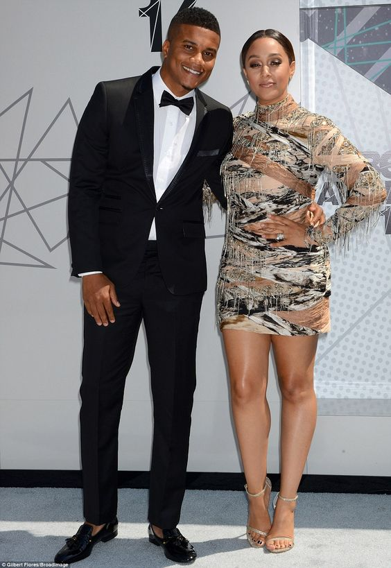 Date night! The 37-year-old TV star was joined by husband Cory Hardrict, 36...